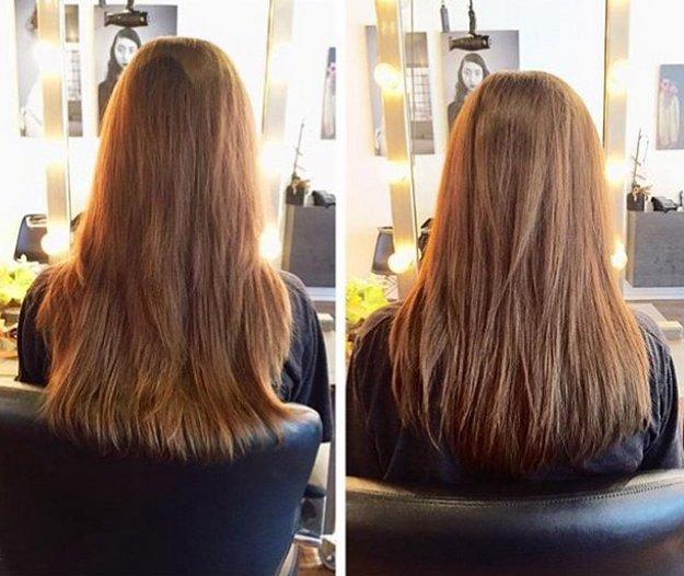 Сухая стрижка волос