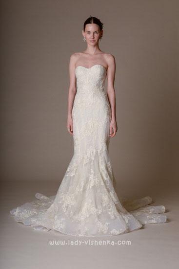 Сайт свадебных платьев Marchesa