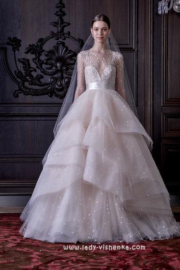 Самые красивые свадебные платья Моник Люлье