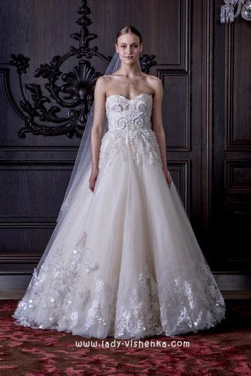 Красивые свадебные платья Моник Люлье