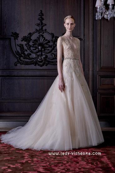 Красивые свадебные платья - фото Моник Люлье