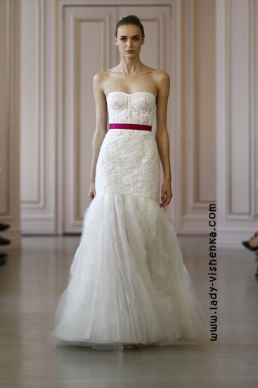 Модные свадебные платья 2016 фото Oscar De La Renta