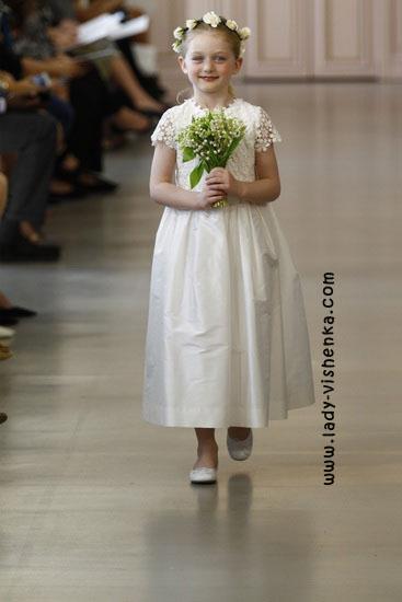 Детские свадебные платья Oscar De La Renta
