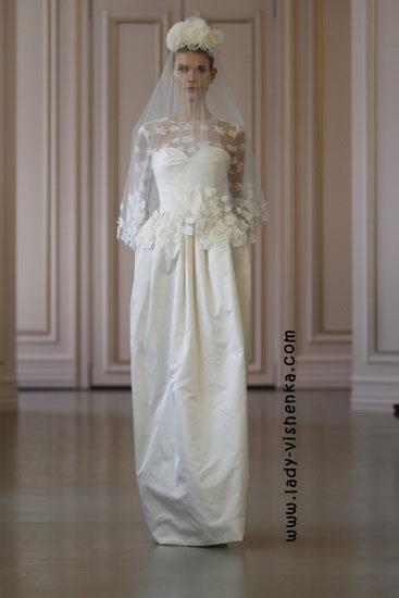Свадебные платья с рукавами Oscar De La Renta