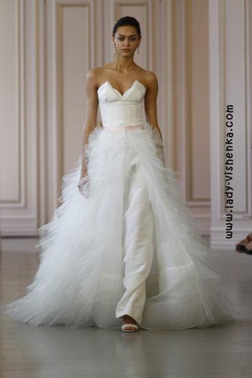 Необычные свадебные платья Oscar De La Renta