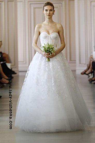 Стильные свадебные платья Oscar De La Renta