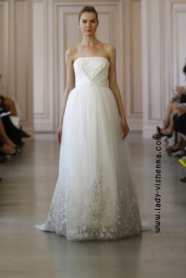 Модные свадебные платья Oscar De La Renta