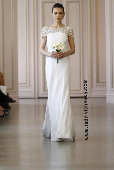 Красивые свадебные платья Oscar De La Renta