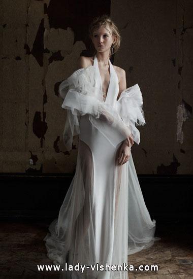 Открытые свадебные платья Вера Вонг
