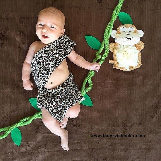 Костюм Тарзана для малышей