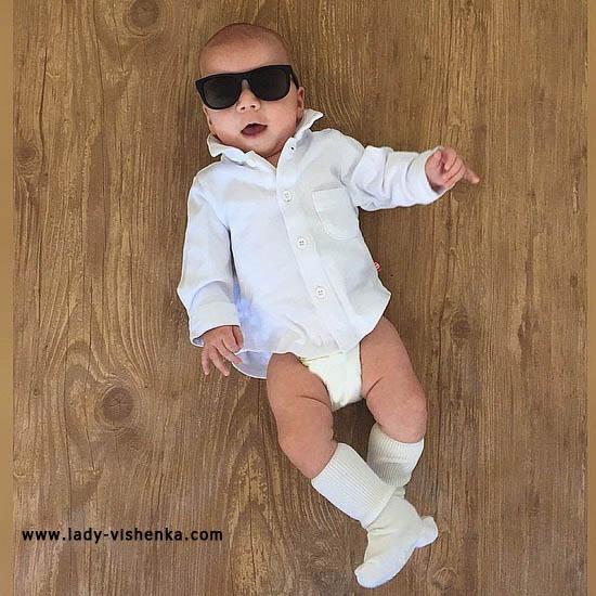 Костюм крутого парня для малыша
