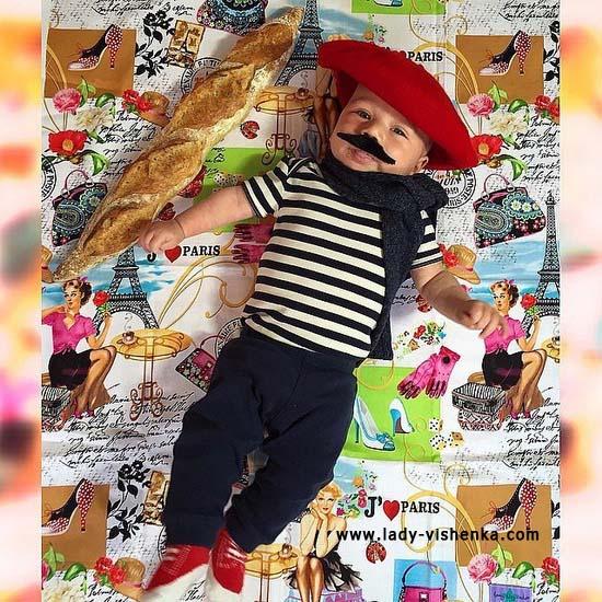 Костюм Француза для малышей
