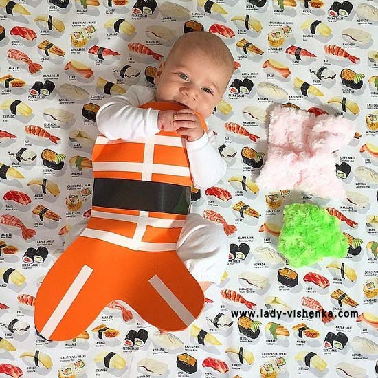 Костюм суши для малышей