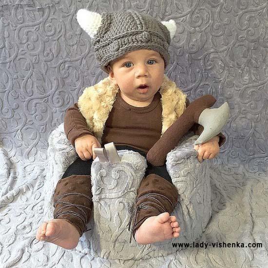 Костюм викинга для малыша