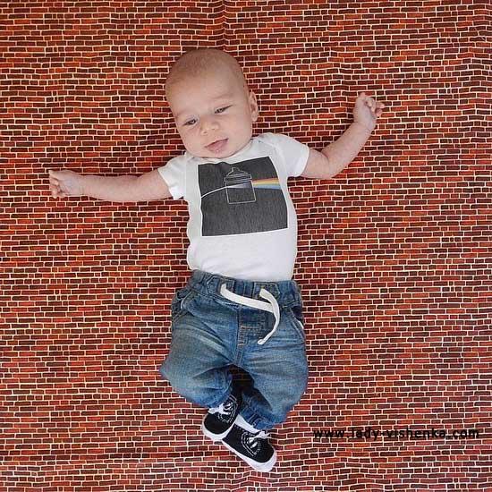 Костюм джинсового парня для малыша