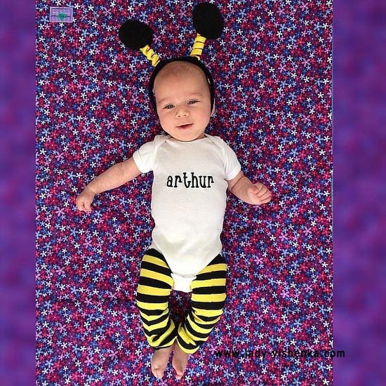 Костюм пчелы для малыша