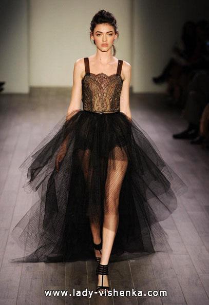 Черное свадебное платье 2016 - Hayley Paige