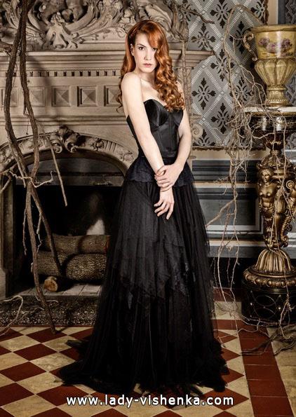 Свадебное платье черного цвета - Jordi Dalmau