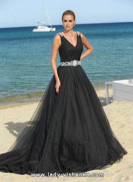 Черное свадебное платье 2016 - Lady Bird