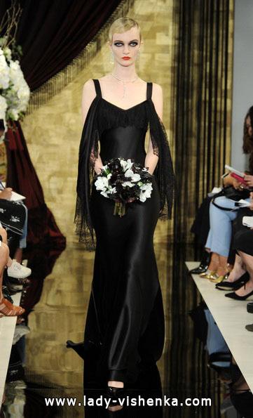 Черное свадебное платье 2016 - Theia