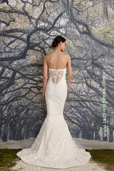 Лучшие свадебные платья Nicole Miller