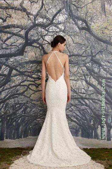 Длинные свадебные платья Nicole Miller