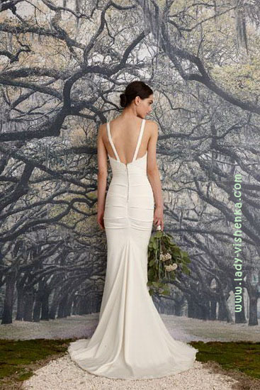 Свадебные платья Nicole Miller - спина