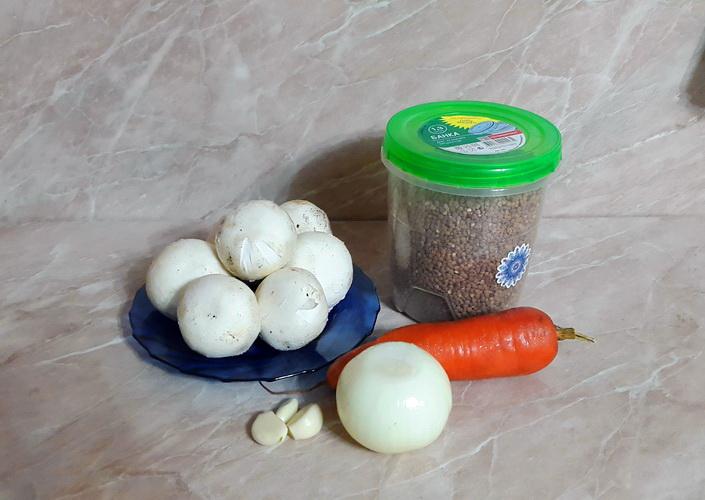 Как приготовить гречку с шампиньонами