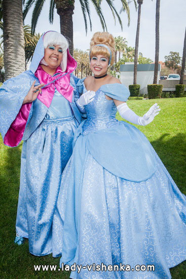 Платье Золушки на Хэллоуин для девушек