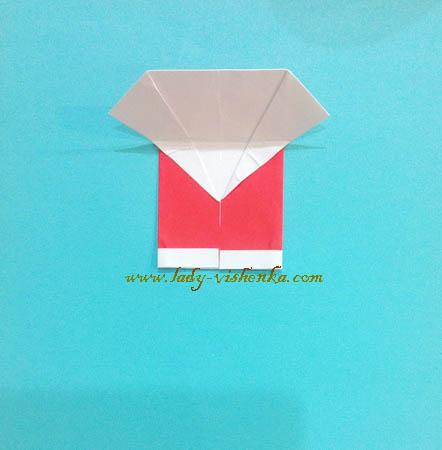 Елочная игрушка из бумаги