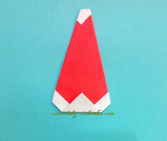 Бумажный Дед Мороз