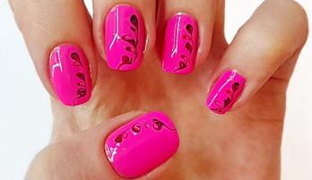 Простой дизайн ногтей для начинающих