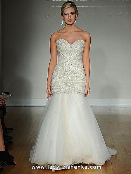 Свадебное платье рыбка фото - Allure