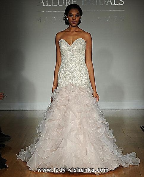 Свадебное платье рыбка - Allure