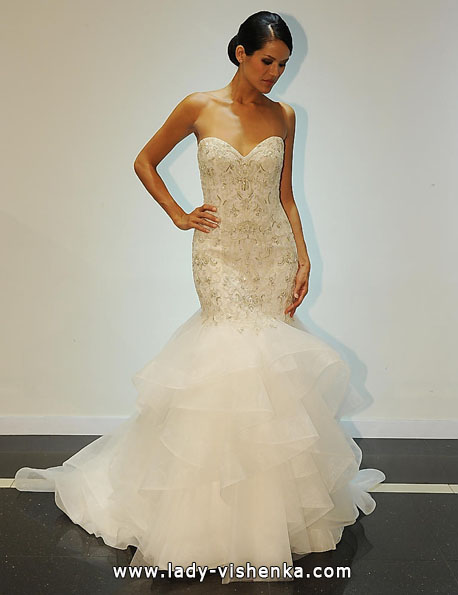 Свадебное платье рыбка - Simone Carvalli