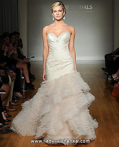 Свадебное платье русалоча фото - Allure