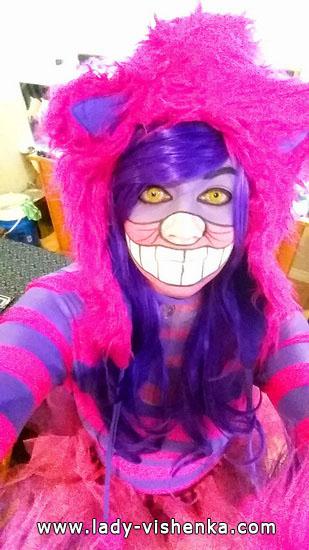Черширская кошка на Хэллоуин для девушек