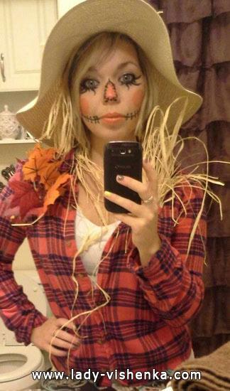 Идеи костюма на Хэллоуин - пугало