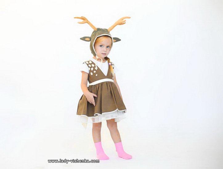 Костюмы для маленьких девочек