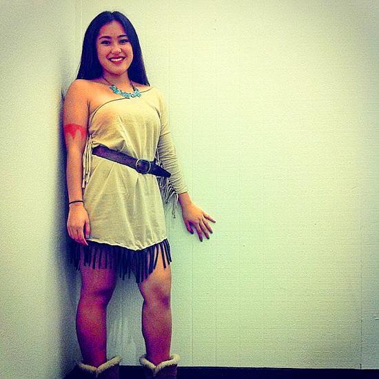 Платье Покахонтас на Хэллоуин - фото