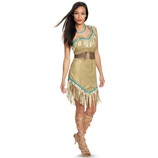 Наряд Покахонтас на Хэллоуин