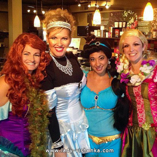 20 идей костюма Диснеевской принцессы на Хэллоуин