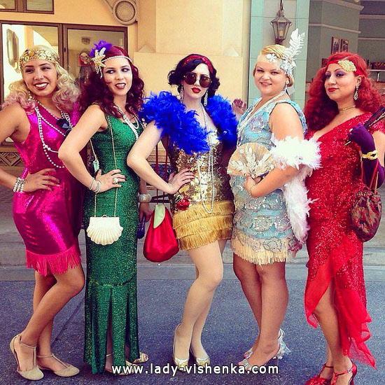 Ретро Диснеевские принцессы на Хэллоуин