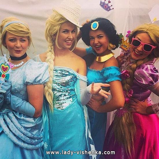 Платья на Хэллоуин - Принцессы