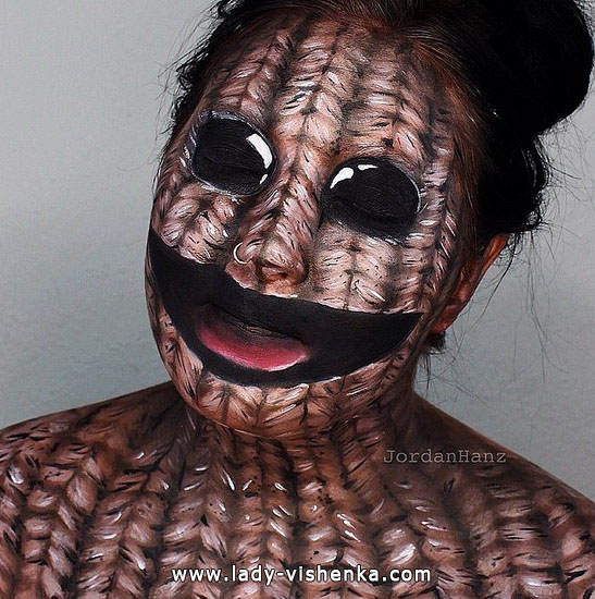 Темный грим на Хэллоуин