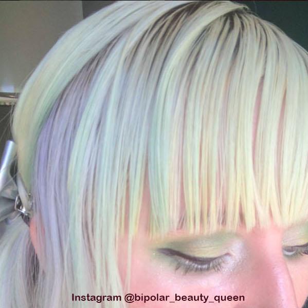 13. Голографические волосы