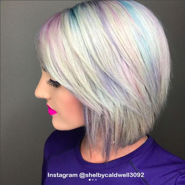 5. Голографические волосы