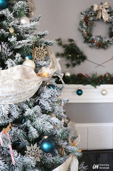 Идеи украшения искусственной елки