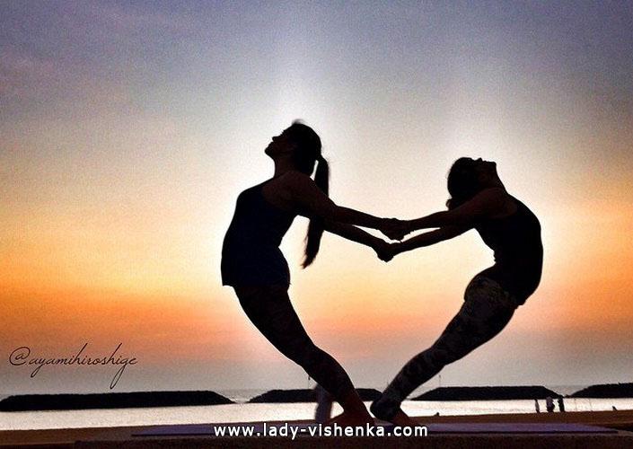 Йога для двоих - Открытое сердце