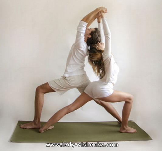 Йога для двоих - Двойной Воин